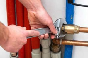plumbing repair and pipefitting